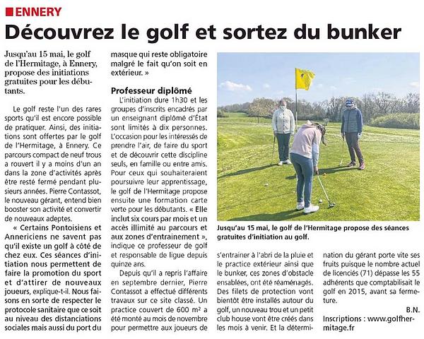 La Gazette du Val d'Oise 21 avril 2021.P