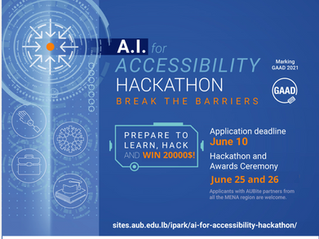 UX design and Branding Mentor at AI for Accessibility Hackathon
