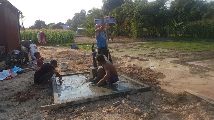 Ombouw waterput