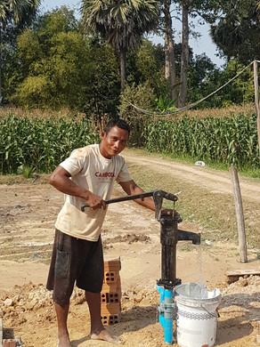 handmatige waterpomp