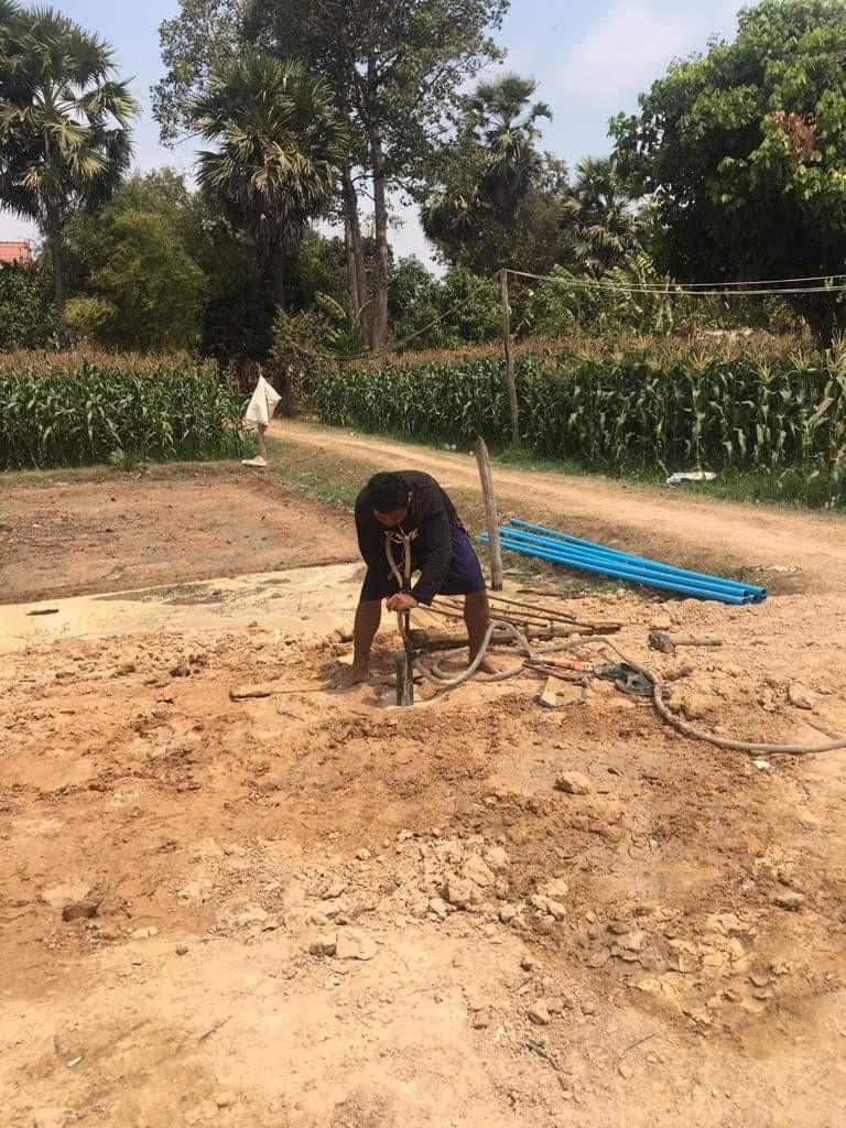 Voorbereiding graven