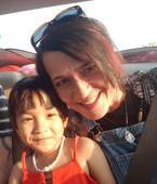 Dochter van onze Cambodjaanse vriend