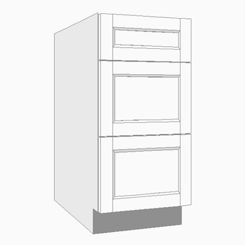 Base Unit | Three Drawer