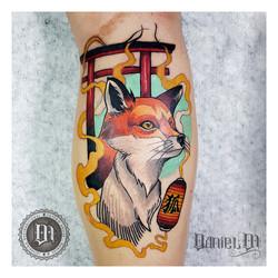 Zorro Tattoo Neotradicional