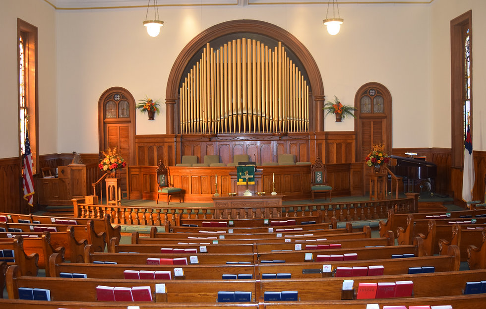 Trenton First UMC sanctuary