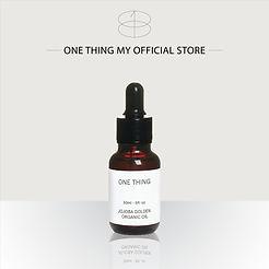 OneThing_Jojoba Golden Organic Oil_30ml-
