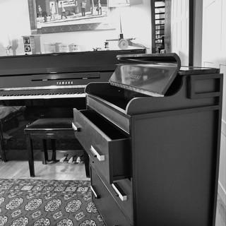 Comode piano à 3 tiroir