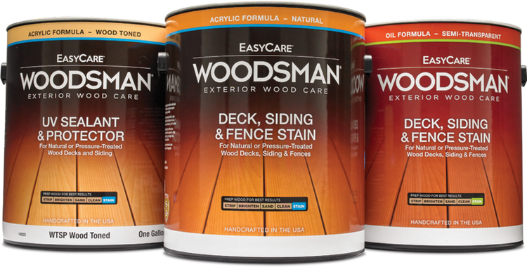 Woodsman Stain for Deck, Siding, and Fence