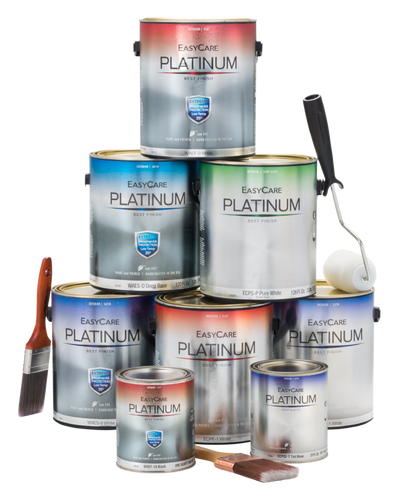 Platinum Paint and Primer in One