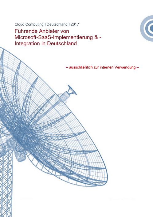 MS SaaS Implementation & Integration in Germany 2017