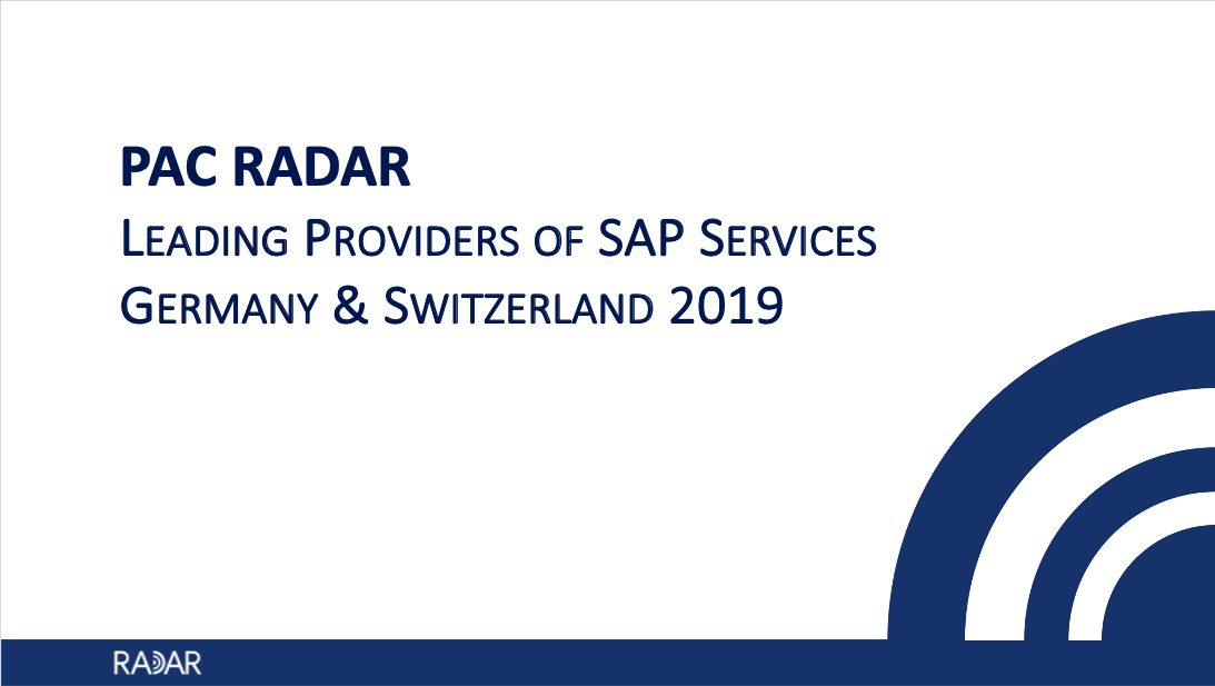 Leading Providers of SAP Services German