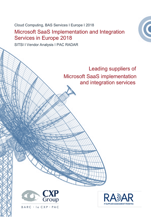 Microsoft SaaS Implementation and Integration Services in Europe 2018