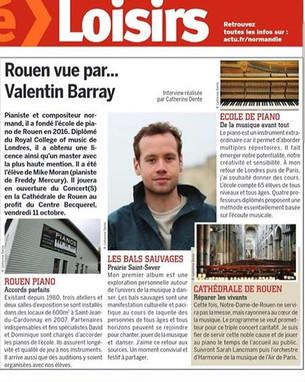 Thank merci Coté ROUEN et Catherine Dent