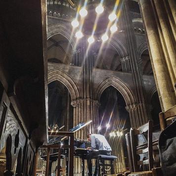 Quelques photos du concert à la Cathédra
