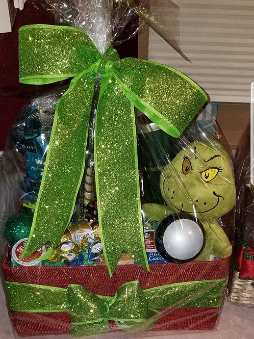 "Gift Basket ""The Grinch"""