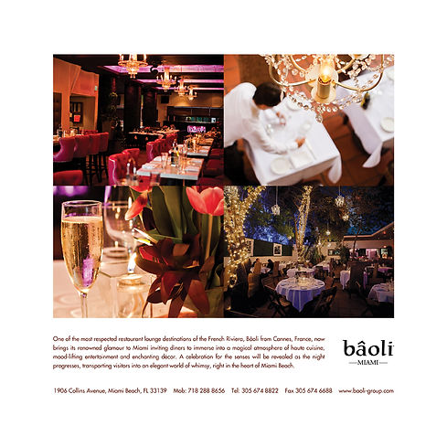 Baoli Miami Beach advertising branding graphic design agency