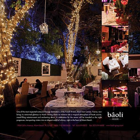 Baoli Miami Beach branding advertising graphic design agency