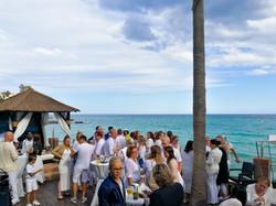 Cóctel Bienvenida Malibú Beach Bar