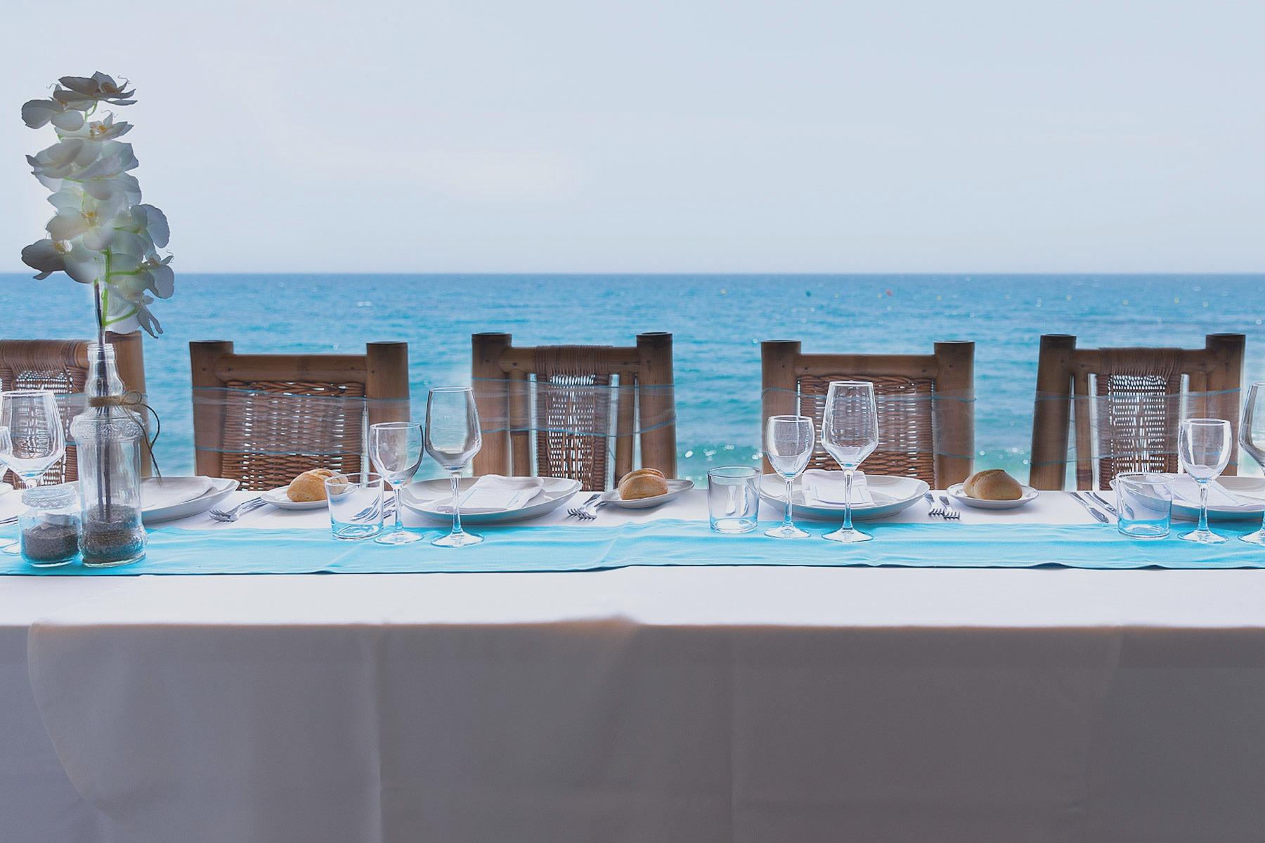mesa presidencial Malibú Beach BAr