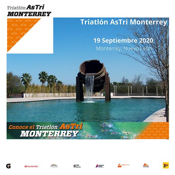 Triatlón Astri Monterrey 19 de Septiembre 2020