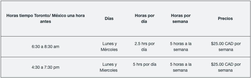 Cursos de Inglés en Linea