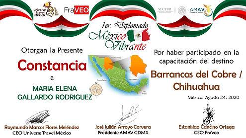 Viajes Internacionales Inolvidables. Barrancas del Cobre, Mexico