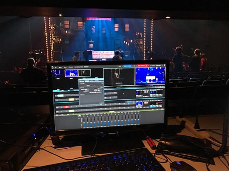 Avenue Q on Broadway with TriCaster