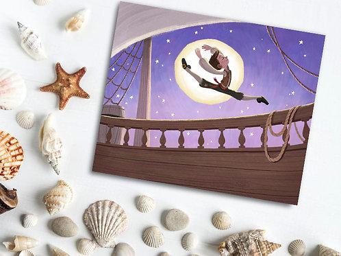 Moonlight Pirate Dance Print