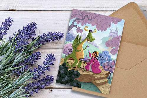 Tea Time Friends Greeting Cards Set of 10