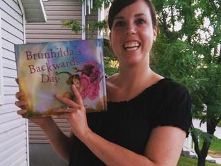 Happy Book Birthday, Brunhilda!