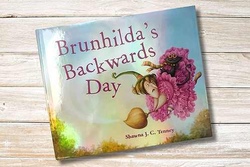 Bruhilda's Backwards Day Signed Book