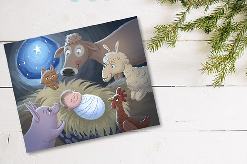 Silent Night, Holy Night Print