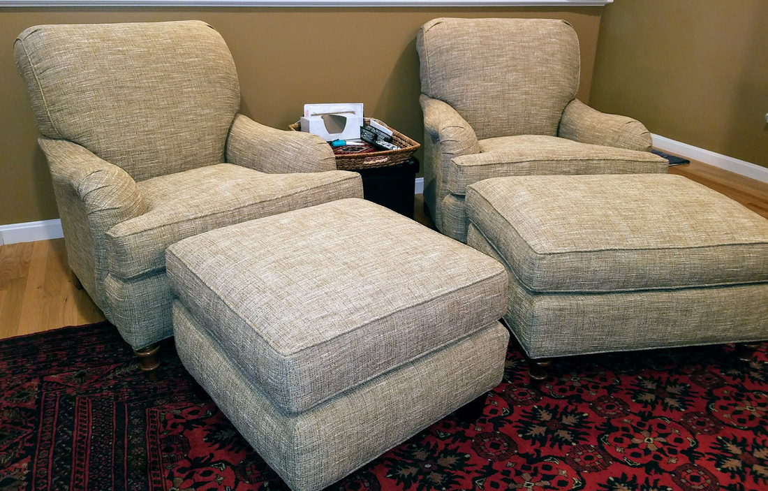 Stickley & Audi Club Chairs