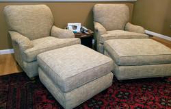Stickley & Audi Club Chairs