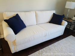 sofa slipcover Fabricut zonolite