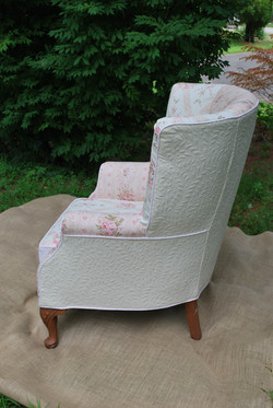 wing back slipcover patchwork2