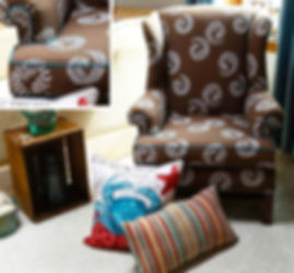 Plymouth Upholstery & Decor Chair