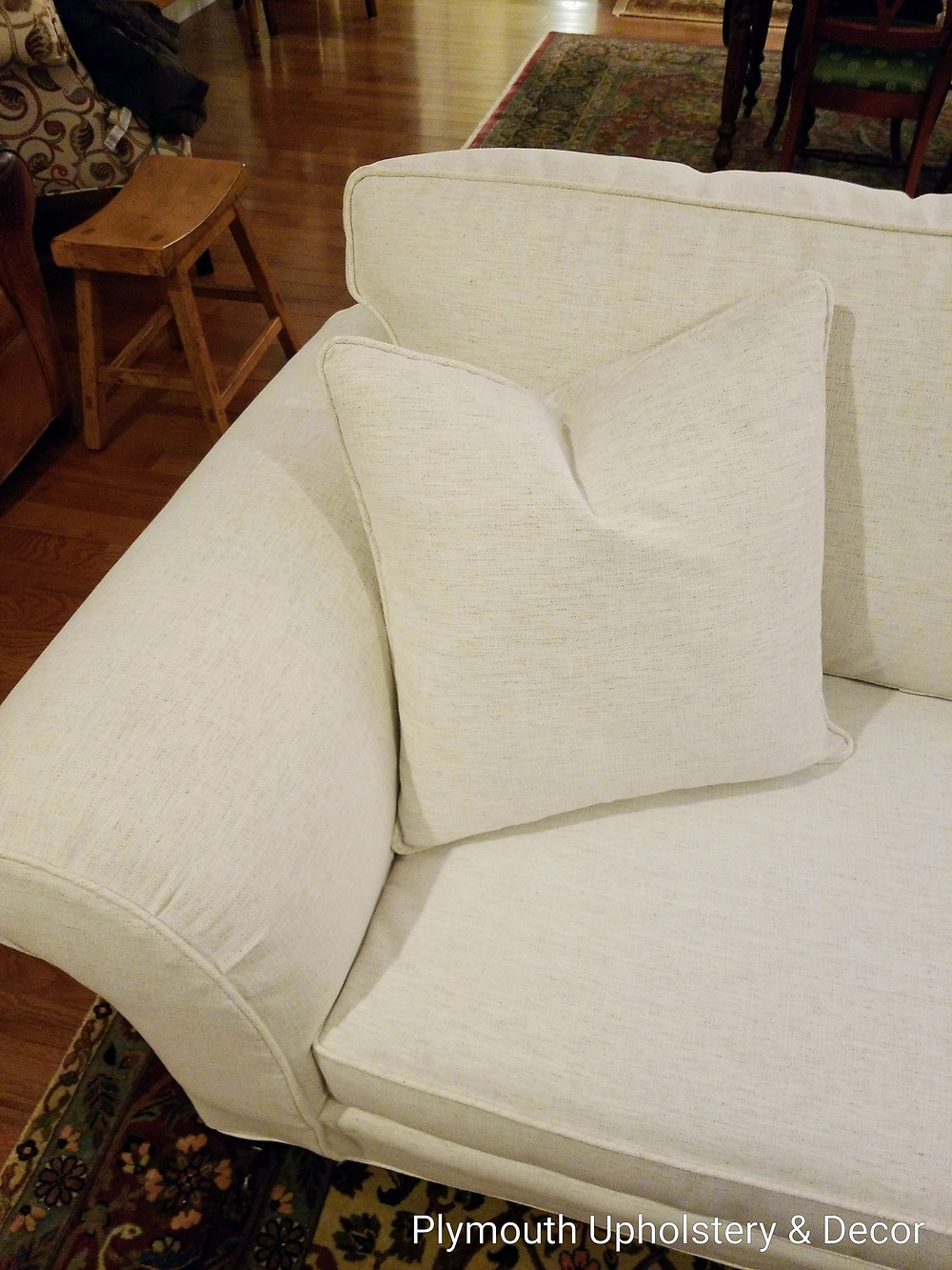 sofa slipcover polenta bone