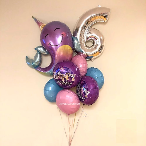 NUMBER & CHARACTER - KIDS BALLOON BOUQUET