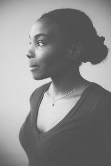 joli portrait femme noire lumiere douce photographe nice