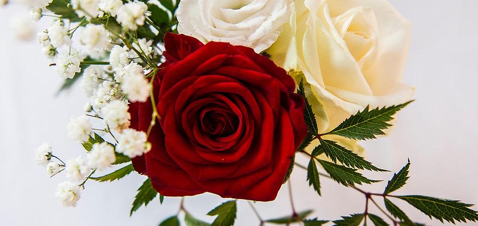 Photo bouquet de mariage décoration table