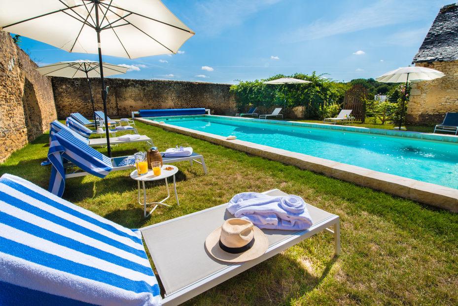 photographe espace piscine spa extérieur chambre d'hôte
