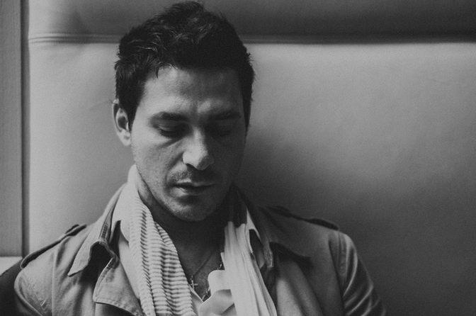 portrait homme triste lumiere photographe nice