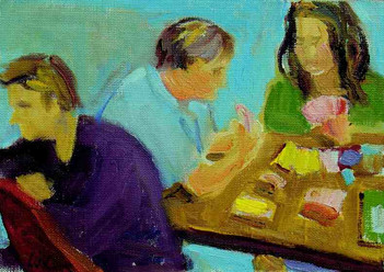 A card Game: Losha, Glenn, Ira-