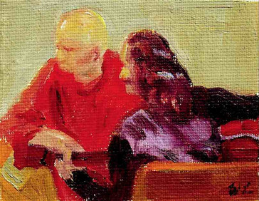 Paul and Angey Writing