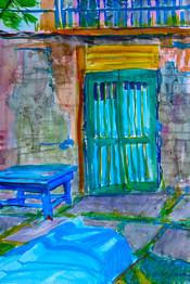 Boathouse Door: Ukraine