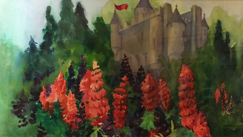 Castle Lupines (England)