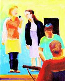 Leading Worship: Svyetta, Kristin, Glenn, Ben
