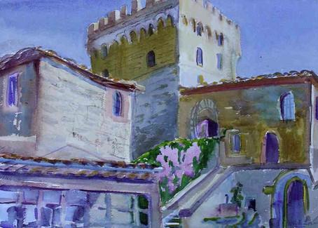 Castle Wisteria (Italy)