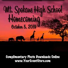 Mt. Spokane High School Homecoming